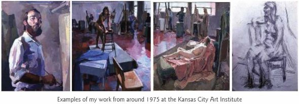 001 Examples of my work from around 1975 at the Kansas City Art Institute