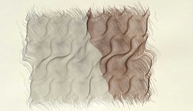 1 fractone-2007-graphite-lead-and-brown-chalk-13x17in