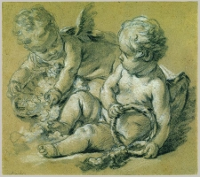 francois_bopucher_1703-1770_two-winged-putti-ca-1748-50_8-25x9-375in