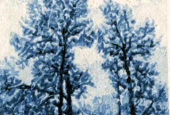 Aspen (tiny woodcut)