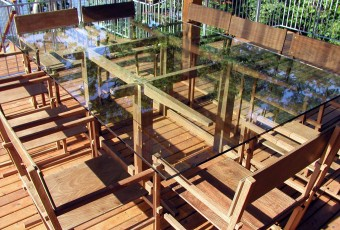 Lake Table and Ten Chairs of Ipe