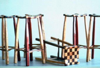 Checker Stools